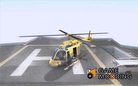 Экскурсионный вертолёт из gta 4 for GTA San Andreas