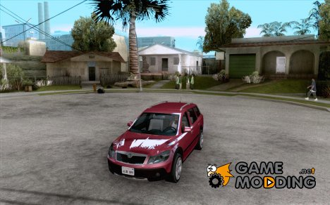 Skoda Octavia Scout for GTA San Andreas