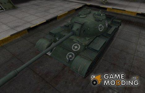 Зоны пробития контурные для WZ-120 для World of Tanks