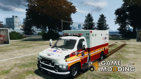 GMC C4500 Ambulance [ELS] for GTA 4