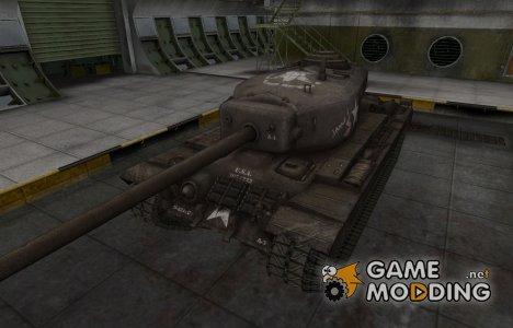 Исторический камуфляж T30 for World of Tanks
