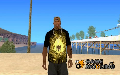 Billy Talent T-shirt для GTA San Andreas