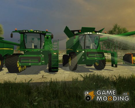 John Deere S680,S670,640 for Farming Simulator 2013