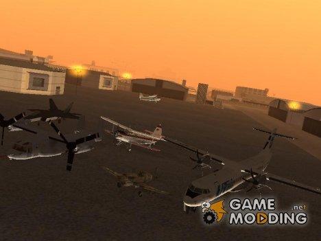 Пак новых самолётов for GTA San Andreas