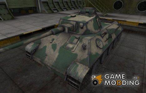 Скин для немецкого танка VK 30.01 (D) для World of Tanks