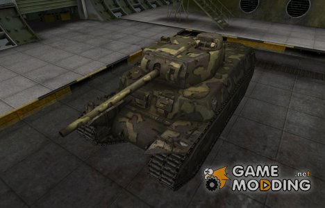 Простой скин T1 Heavy для World of Tanks
