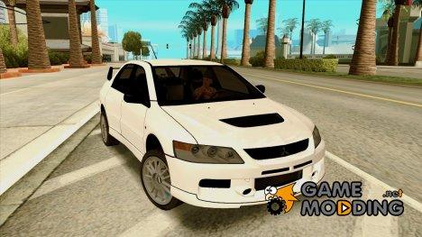 Mitsubishi Lancer Evo IX MR Edition для GTA San Andreas