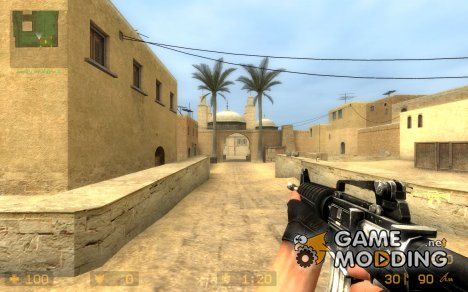 Joshbjoshingu's Black M4a1 для Counter-Strike Source