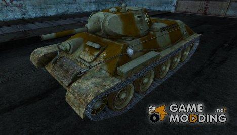 Шкурка для Т-34 for World of Tanks