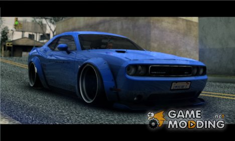 2012 Dodge Challenger SRT8 Liberty Walk LB Performance for GTA San Andreas