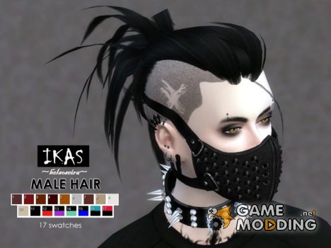 IKAS - Hair style for Sims 4
