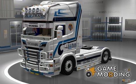 Hovotrans скин для грузовика Scania R для Euro Truck Simulator 2