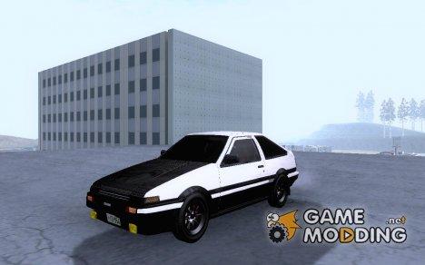 lnitial D AE86 для GTA San Andreas