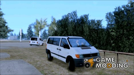 Mercedes-Benz Vito 112CDI 1-Gen for GTA San Andreas