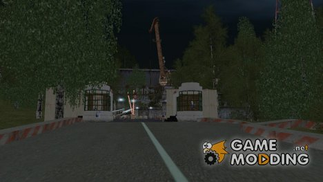 "База ""МЕЧ"" в Южно-Хим v.1.0 в Криминальной России for GTA San Andreas"
