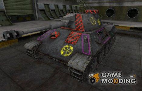 Контурные зоны пробития VK 30.02 (D) for World of Tanks