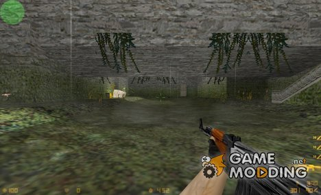 Broken ak47(default) for Counter-Strike 1.6