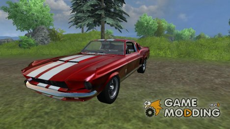 Shelby Mustang GT500 for Farming Simulator 2013
