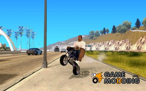Pocket Cross Bike for GTA San Andreas