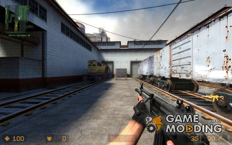 white plastic / wood galil для Counter-Strike Source
