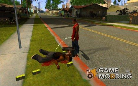 Piss Piss mod для GTA San Andreas