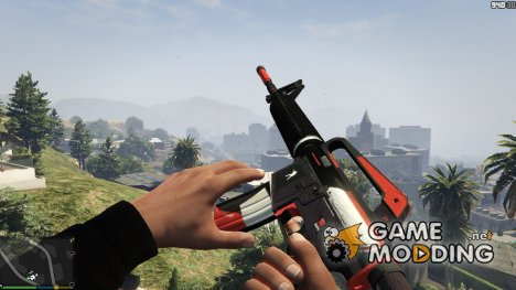 M4A1-S Cyrex 1.1 for GTA 5