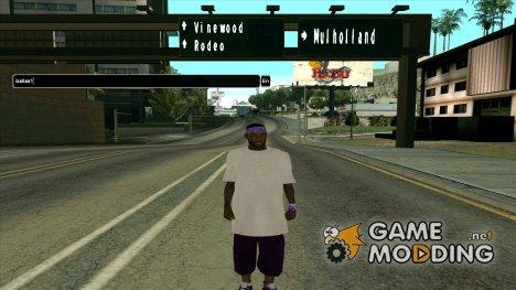 Пак скинов банд for GTA San Andreas