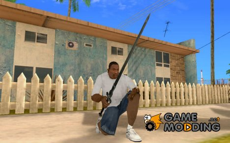 Gothic 2 Sword for GTA San Andreas