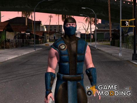 Mortal Kombat X Klassic Sub-Zero for GTA San Andreas