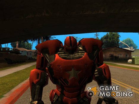 Crimson Dynamo for GTA San Andreas