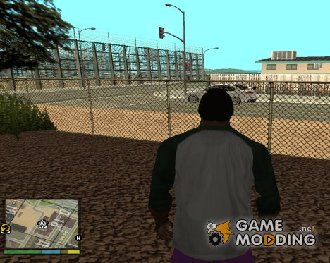 GTA V HUD for GTA San Andreas
