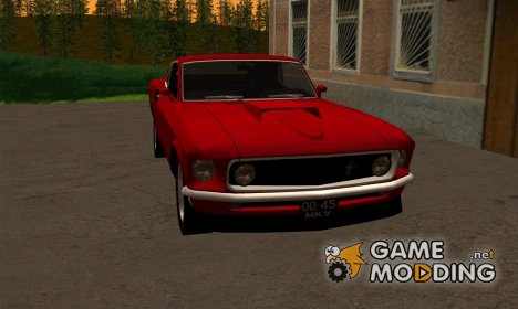 Ford Mustang Boss 429 Import version (USA to USSR) для GTA San Andreas