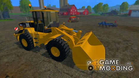 CAT 966G WHEEL LOADER for Farming Simulator 2015