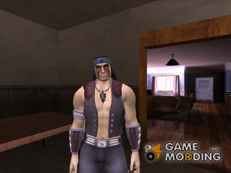 Nightwolf (Mortal Kombat 9) для GTA San Andreas