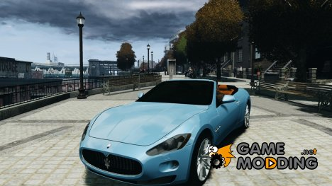 Maserati GranCabrio for GTA 4