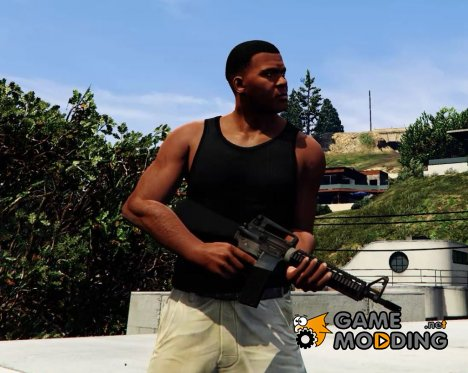 Battlefield 4 M16A4 for GTA 5