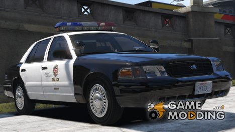 1999 Ford Crown Victoria P71 - Los Angeles Police 3.0 for GTA 5