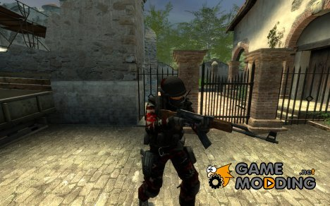 Dogs of War Assault Trooper Seal Team 6 для Counter-Strike Source