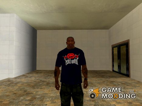 Black Ecko Unltd T-shirt for GTA San Andreas