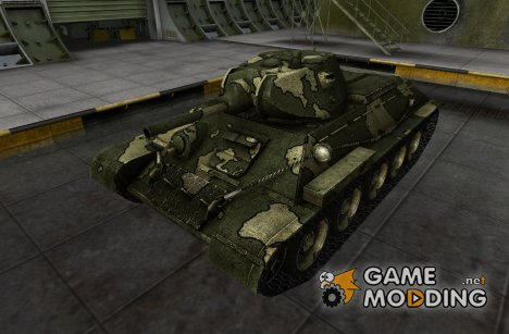 Шкурка для T-34 for World of Tanks