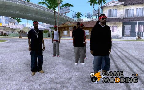Sabage R - Town Bloods for GTA San Andreas