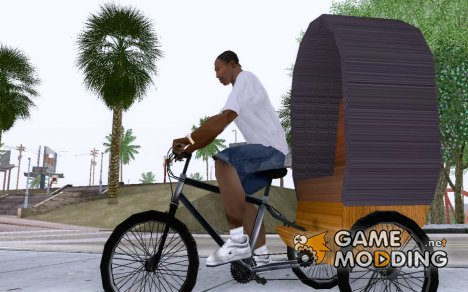 Rickshaw for GTA San Andreas