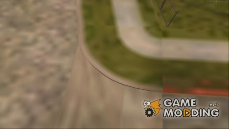 Grove Roads Mega Poly для GTA San Andreas