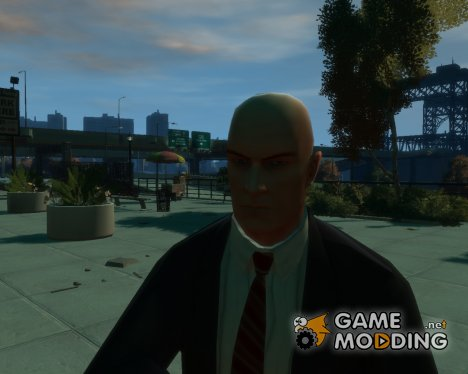 Hitman Blood Money (Agent 47) для GTA 4
