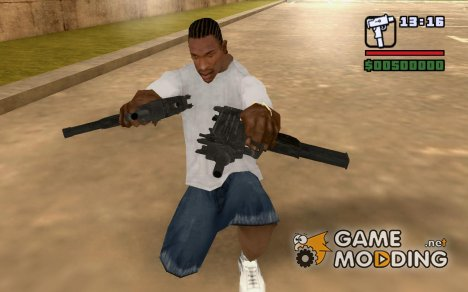 Micro uzi for GTA San Andreas