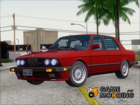 BMW M5 NA-spec (US-spec) 1985 for GTA San Andreas