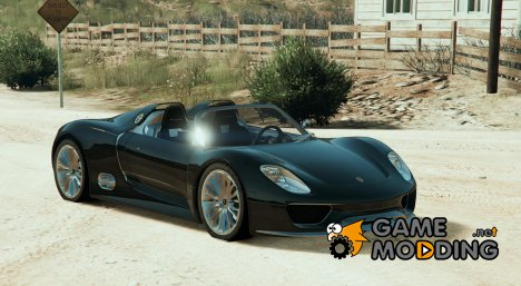 Porsche 918 Spyder для GTA 5