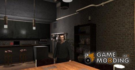 Свитер с воротником для GTA 4