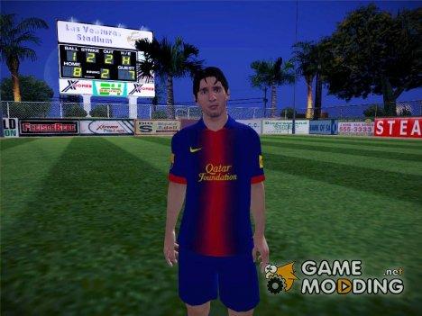 Lionel Messi Barcelona for GTA San Andreas