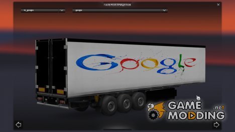 Trailer Google for Euro Truck Simulator 2